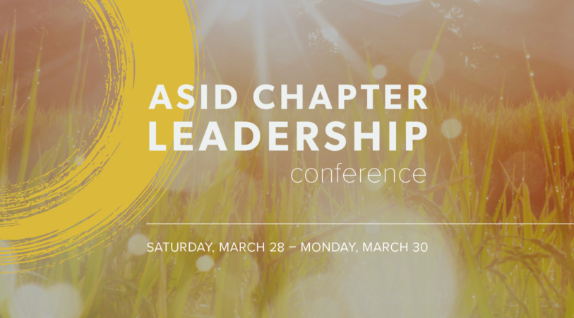Your Chapter Needs to Be Represented.